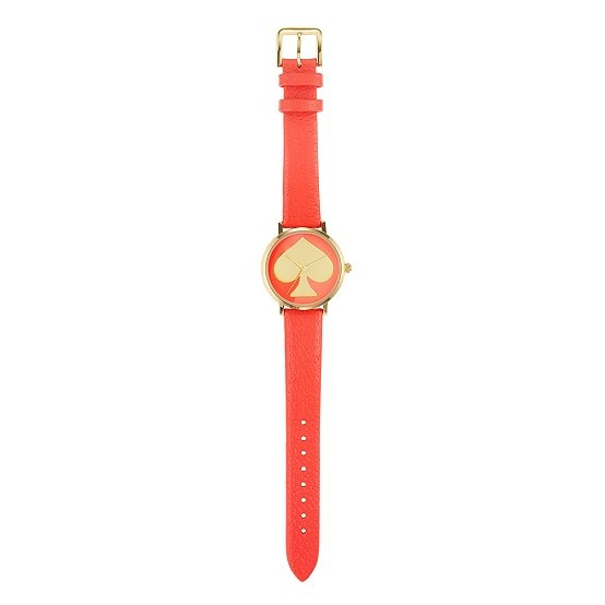 Coral Watches, Coral Kate, Metro Watches, Spade Symbols, Spade Metro, Fashion Inspiration, Kate Spade, Beautiful Things, Accessorizing