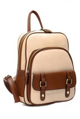 Sincerely Sweet Backpack https://sincerelysweetboutique.com/bags/backpack.html - Beige Backpack