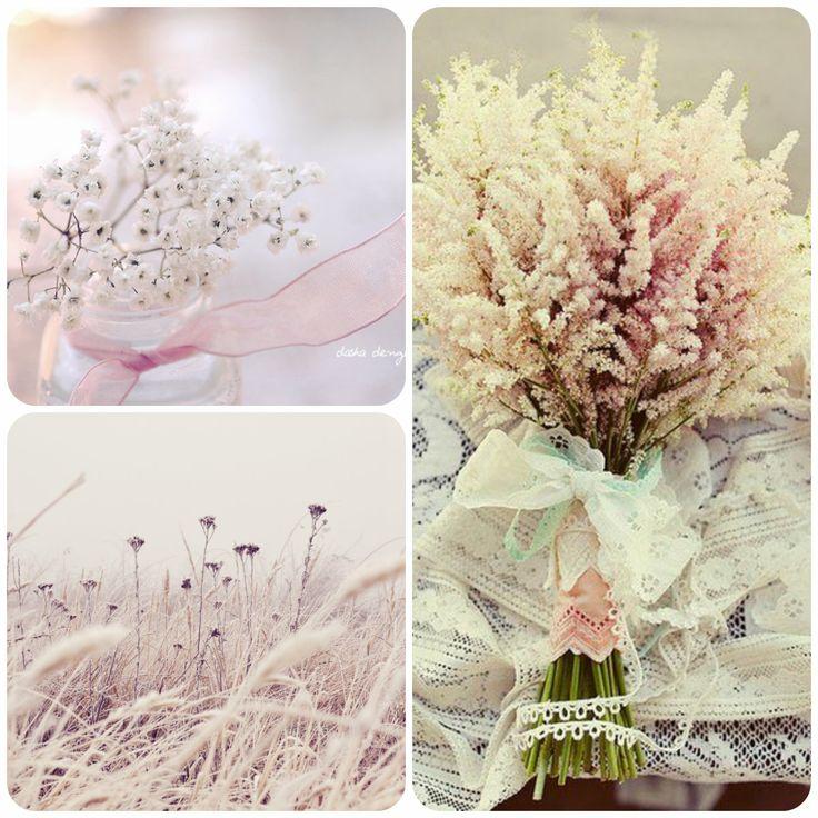 Фотовдохновение - пастельные цветы