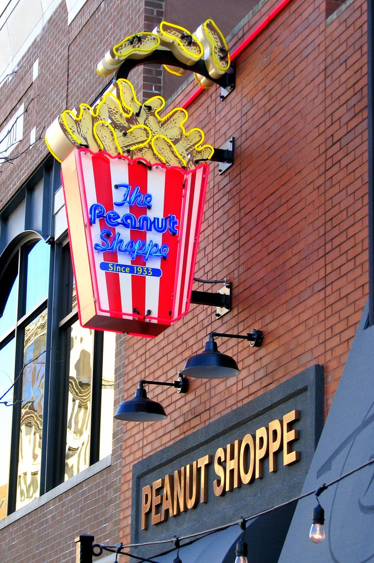 peanut shoppe akron ohio - One of the places my grandma always took me on our trips downtown.