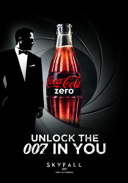 Coca-Cola Unveils Limited Edition 'James Bond' Series - I WANT THIS!!!