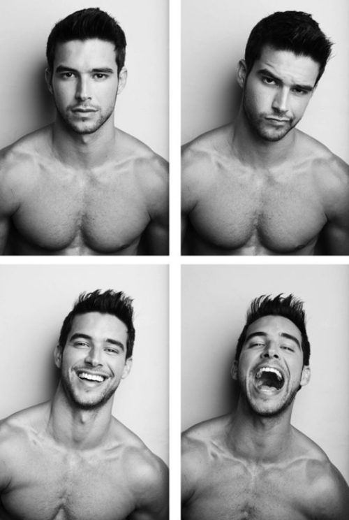 i love it much better when boys smile.