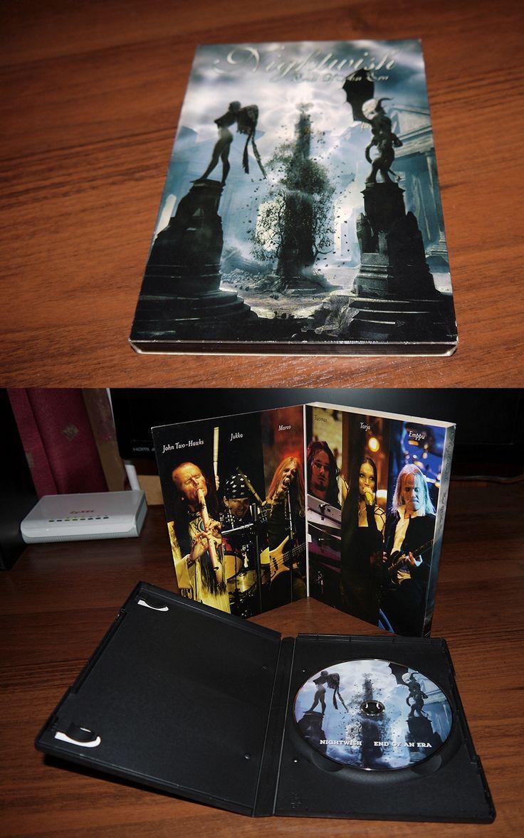 Nightwish - End of an Era (keep case in slip case) Russia, bootleg