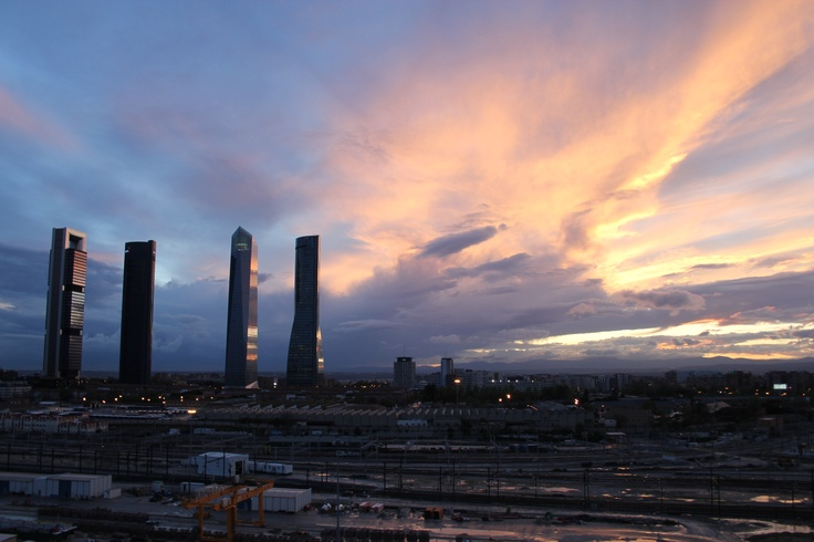 From the roof (CTBA, Madrid, Spain)