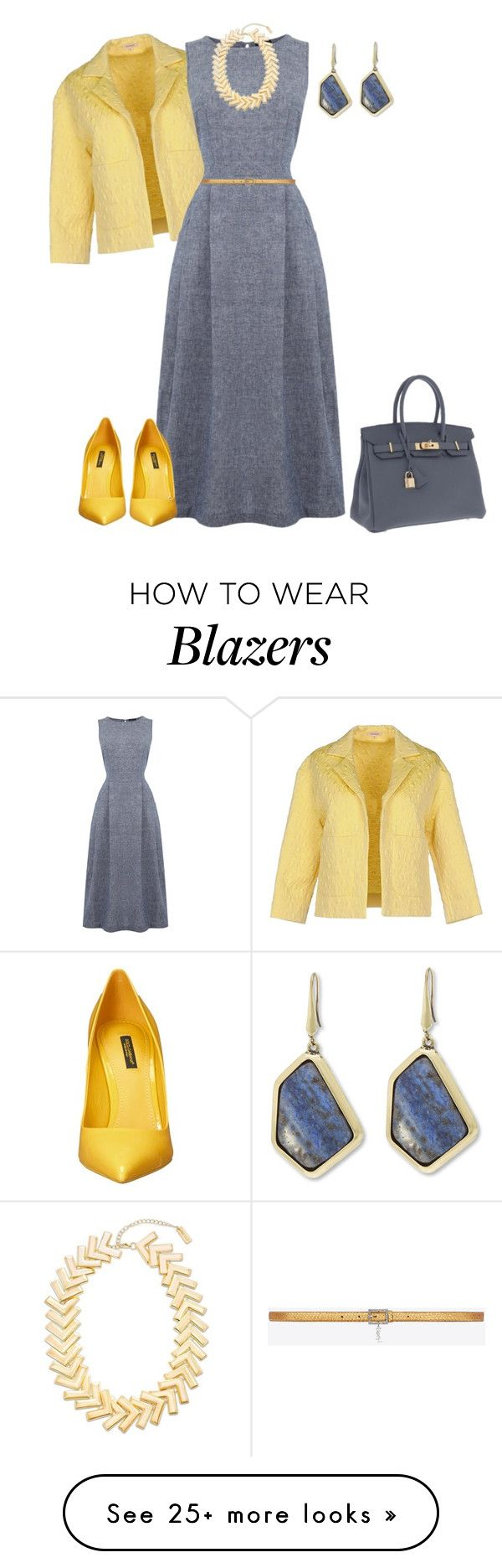 """outfit 4054"" by natalyag on Polyvore featuring P.A.R.O.S.H., Hermès, Warehouse, Steve Madden, Yves Saint Laurent and Dolce&Gabbana"