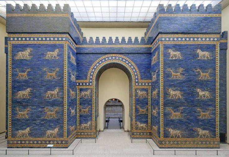 Langfristig soll mittels moderner Technik etwa das weltberühmte Ischtar-Tor, eines der Stadttore der legendären Stadt Babylon, in seinem historischen Originalkontext gezeigt werden