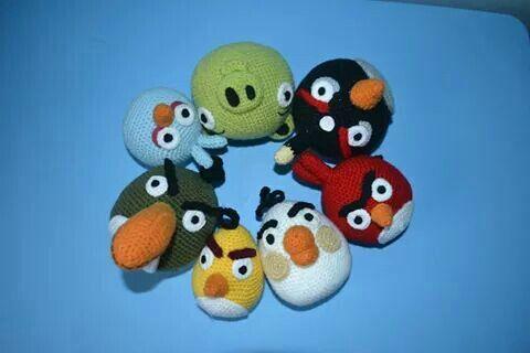 Amigurumi Angry Birds Star Wars : Ponad 1000 obrazow na temat: wzory wyprobowane na Pinterescie