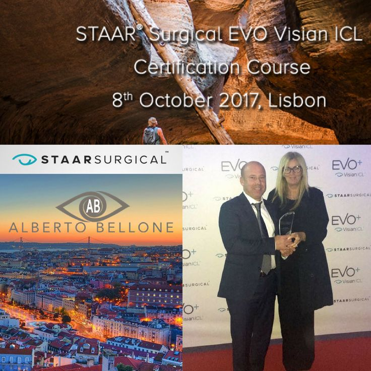 Dr. Alberto Bellone - Accomplished Young Ophthalmologist Award STAAR Surgical EVO Visian ICL - Certification Course - 8th October 2017, Lisbon  http://albertobellone.it/  #albertobelloneoculista #oculista #EVO #ICL #visian #collamer #lente #difettivisivi #occhio #myopia #ipermetropia #astigmatismo #ophthalmology #eyes #eye #healthyeyes #dry #dryeyesyndrome #lasik #prk #icllenses #eyesyndrome #sindromedellocchio #secco #sindrome #syndrome #iclevovisian