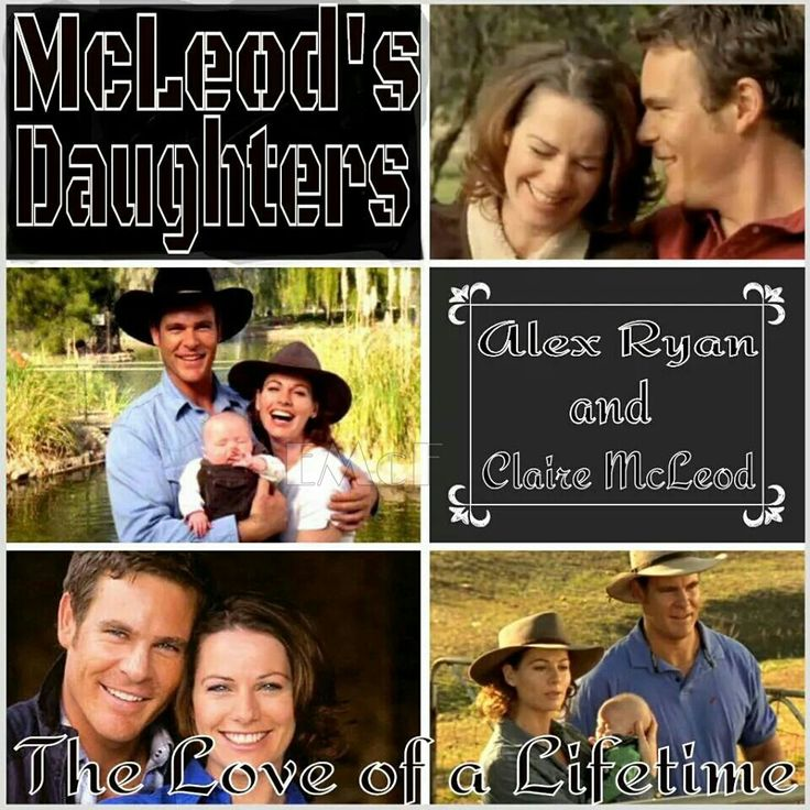 McLeod's Daughters Wallpaper by Elizabeth McFarland- Alex Ryan & Claire & Charlotte McLeod