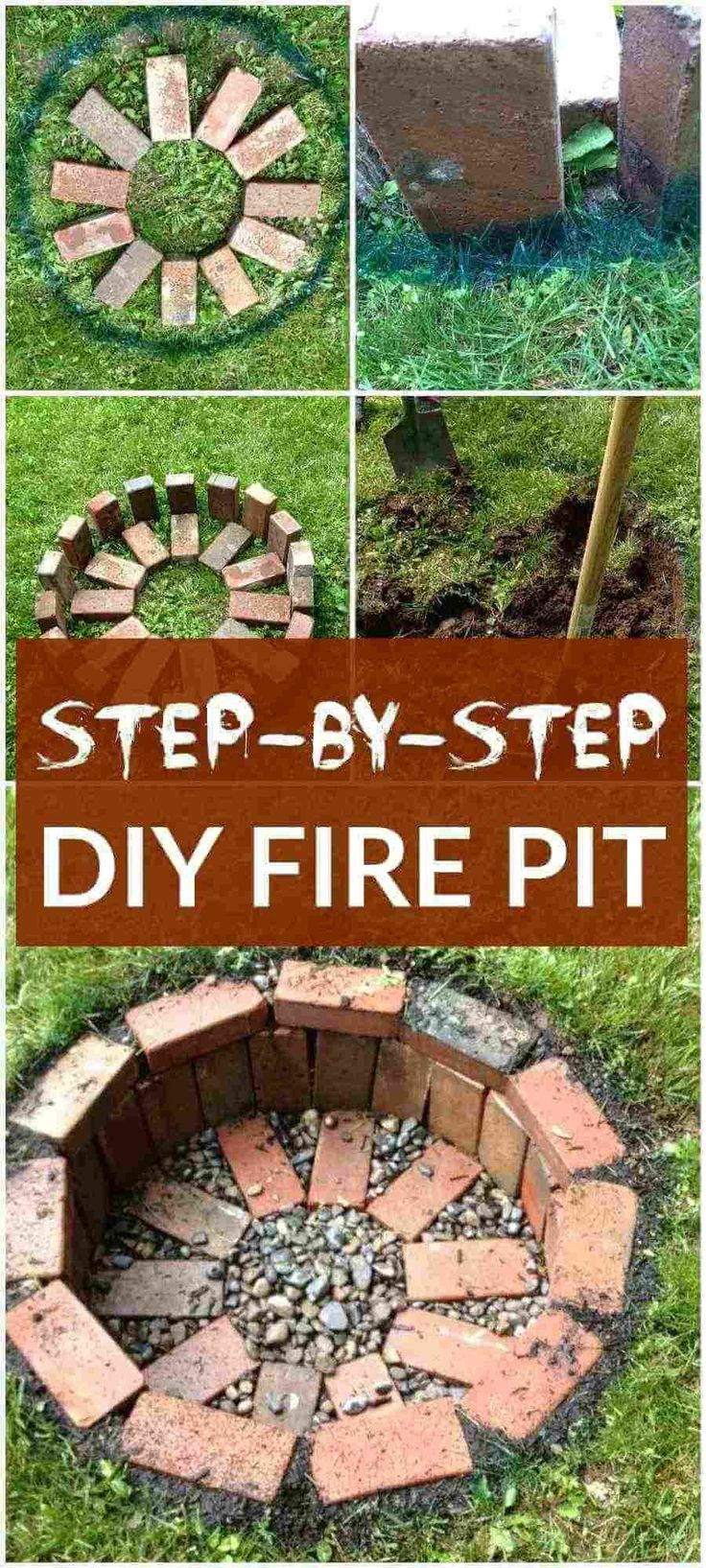 Diy fire pits 40 amazing diy outdoor fire pit ideas you for Homemade fire pit plans