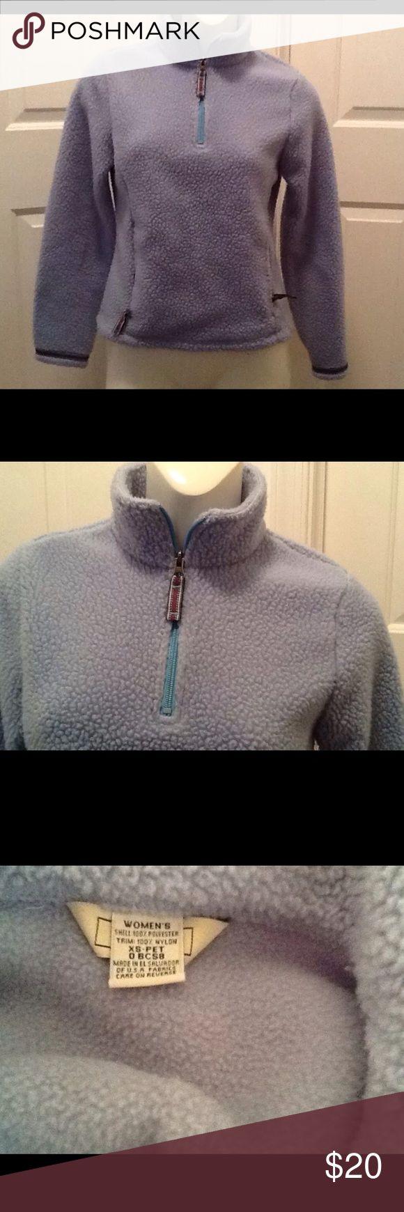 L.L. Bean Polartec Fuzzy 1/4 Zip Pullover L.L. Bean Polertec Fuzzy 1/4 Zip Pullover Sweatshirt. Women's Size XS Petite. L.L. Bean Tops Sweatshirts & Hoodies