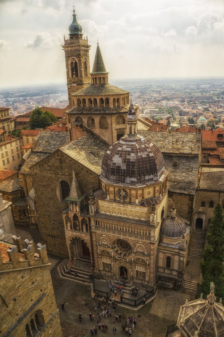 Church in Bergamo, Italy