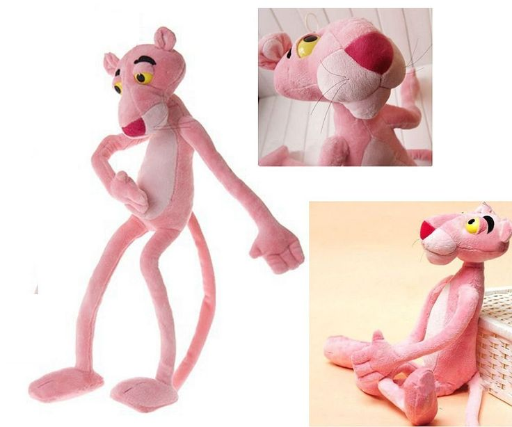 ds pink panther plsch 40 cm plschtier tiger katze kissen kuschelkissen amazon - Kuche In Pink