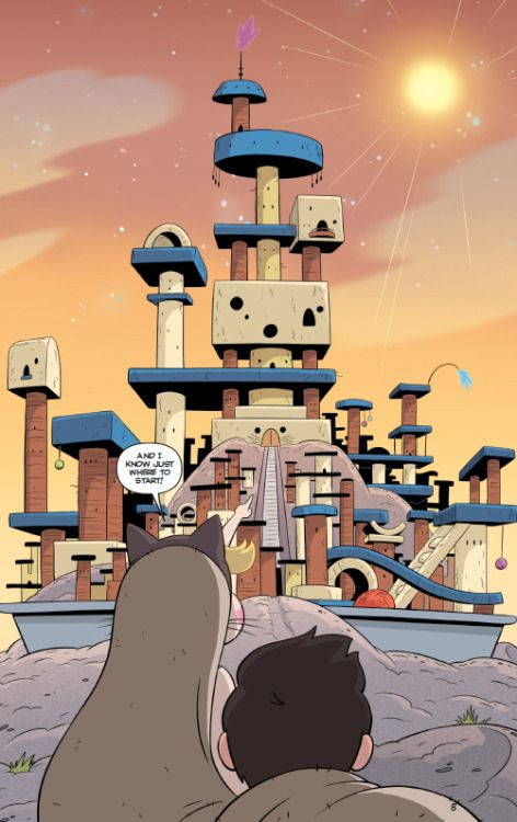 """Issue 4 is OUT for the Star vs the Forces of Evil original comic book series """"Deep Trouble."""" This is another great issue where Star and Marco actually go to the dimension of Cats with Human faces! Just look at that kitty litter box world! Its..."""