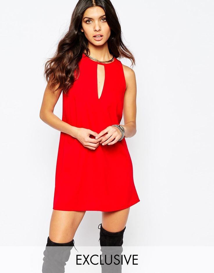 Reclaimed Vintage Sleeveless Tunic Dress