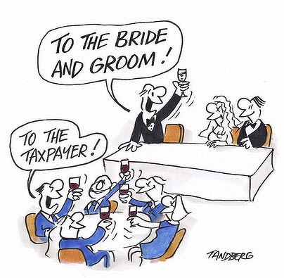 Cartoon Of The Day: Ron Tandberg To The Bride and Groom