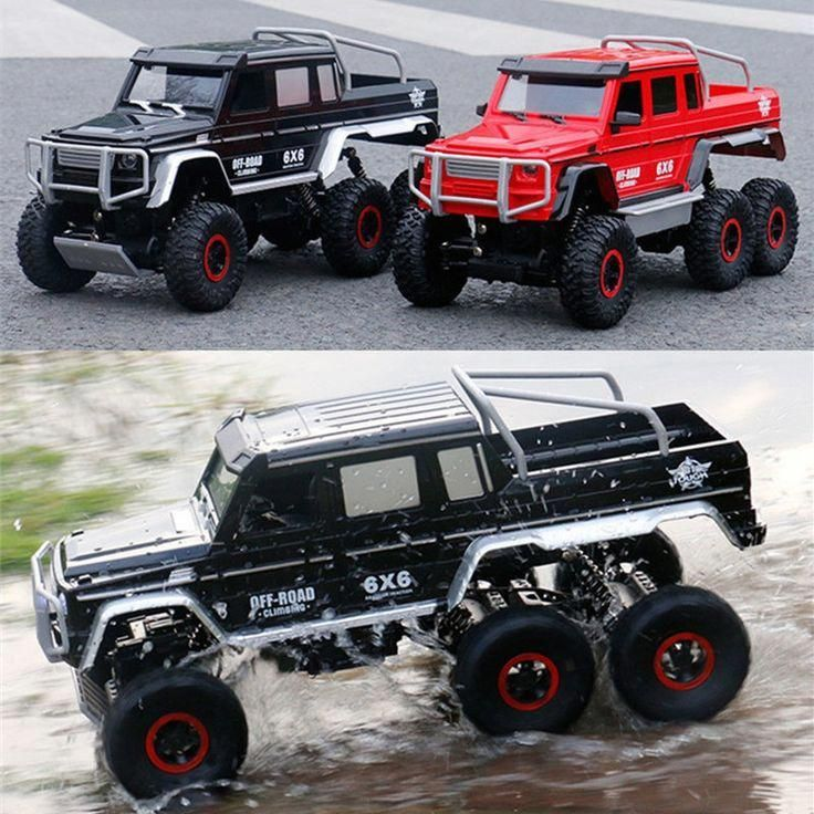 Rc Car 1 10 6wd 2 4ghz Remote Control Off Road Truck Double Motor Vehicle 6x6 Rc Rock Crawler Buggy Climbing Car For Kid B Rc Rock Crawler Rock Crawler Rc Cars