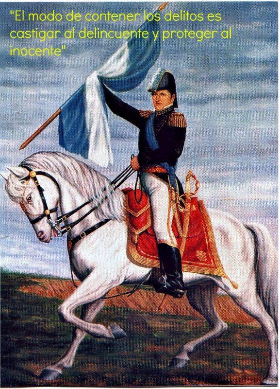 Manuel Belgrano (1770-1820) uno de los Padres Fundadores de la Argentina y creador de la bandera.