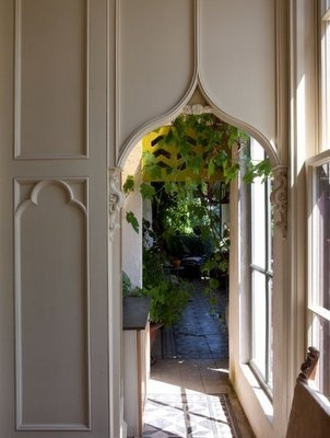 Only wonderful things could happen through a door like that!