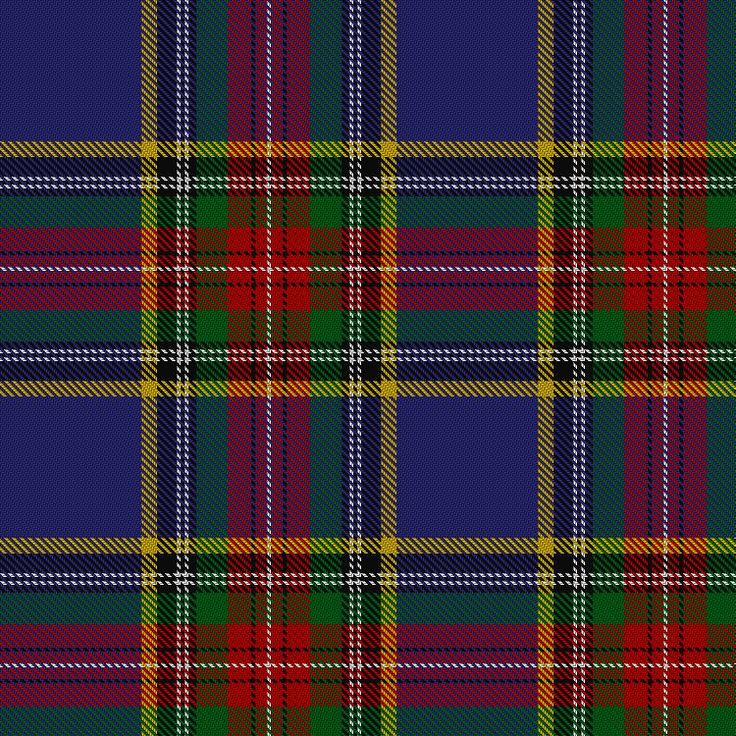 Information from The Scottish Register of Tartans #MacBeth #Blue #Tartan