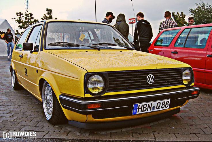 VW Golf 2 - Postgolf - VW Classic www.crowdies.de