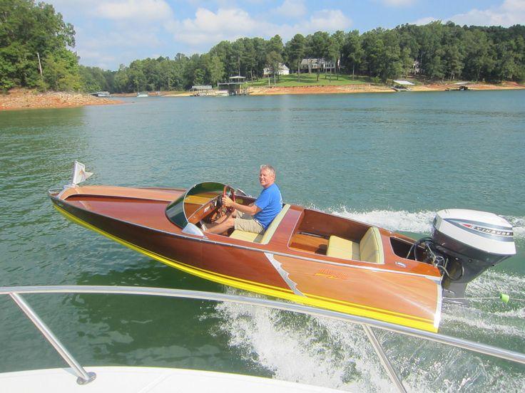 Aristocraft Torpedo 16 Classic Wooden Boat Aristo Craft New | eBay