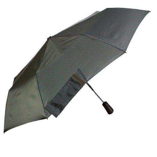 Amazon.co.jp: totes A257 TITAN60 CHA  トーツタイタン60 自動開閉 折りたたみ傘 チャコール: ホーム&キッチン   台風でも壊れない