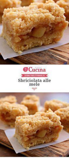 Sbriciolata/crumble alle mele