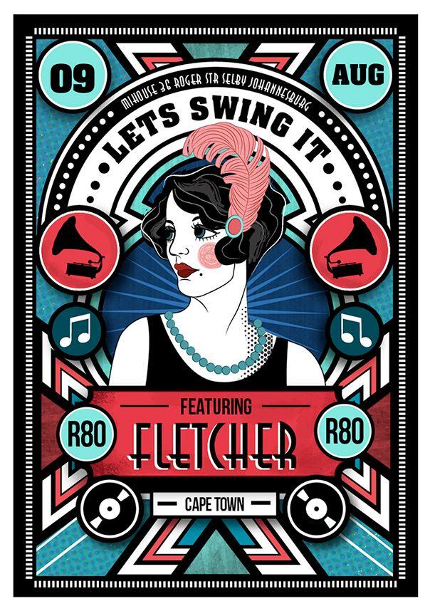 Lets Swing It - Flyer Designs on Behance
