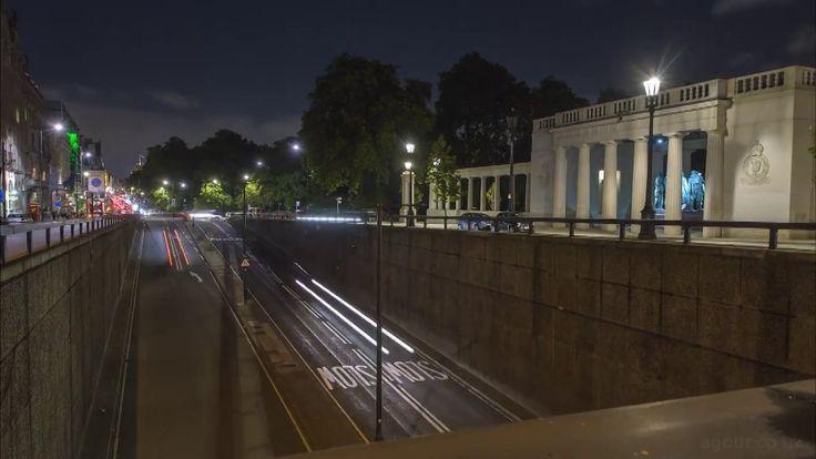 Restless Nights: Timelapse of London
