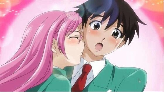 Moka and Tskune from Rosario + Vampire