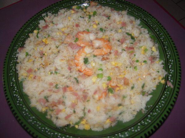 le Vrai riz cantonnais maison réunionnais . Le riz cantonnais est une recette…