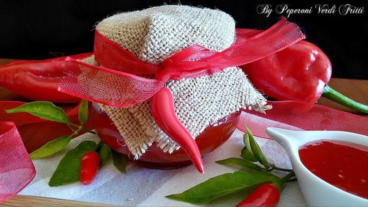 Confettura calabrese di peperoncini piccanti