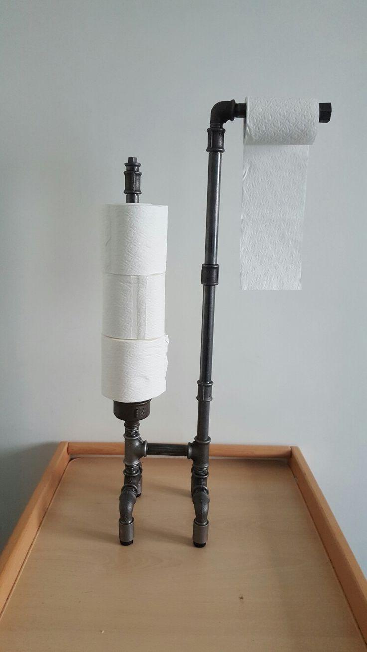 dérouleur papier WC sur pied avec reserve