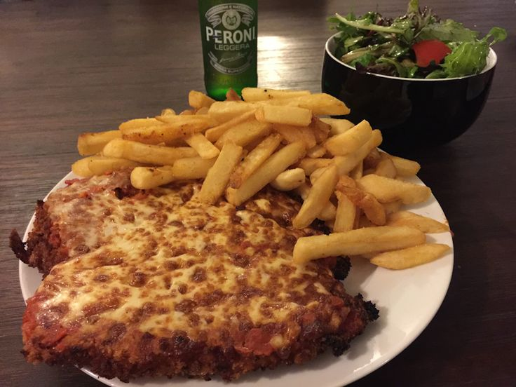 Chicken parma from The Gates, Pascoe Vale