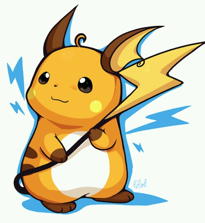 how to draw raichu and pikachu