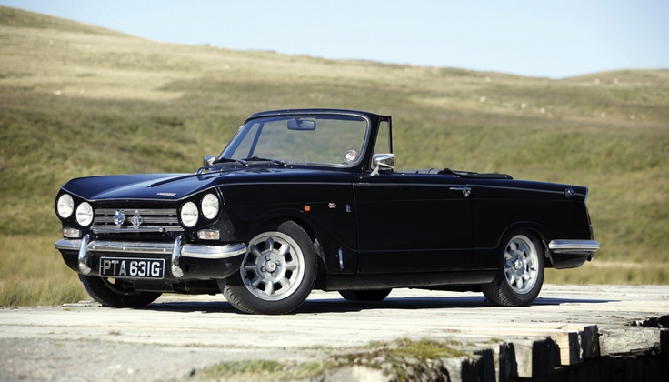 "The car I regret not keeping...Triumph Vitesse Mk 2 (with overdrive, naturally) Photo from ""Octane"" classic and performance cars."