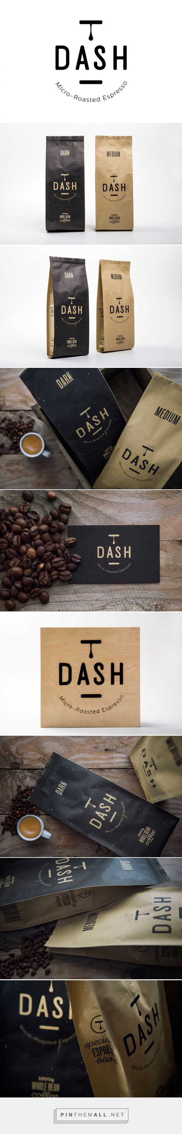 Dash Espresso packaging designed by S & Team (Greece) - http://www.packagingoftheworld.com/2016/03/dash-espresso.html