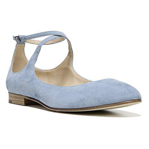 Via Spiga Women's Yovela Ballet Flat, Black Leather, 6.5 M US