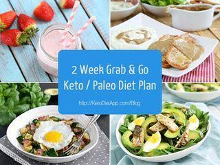 2 Week Grab & Go Keto / Paleo Diet Plan | The KetoDiet App Blog | Bloglovin'