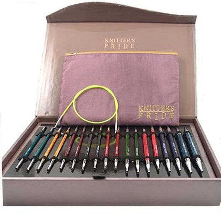 Interchangeable Knitting Needle kit, by Knitter's Pride