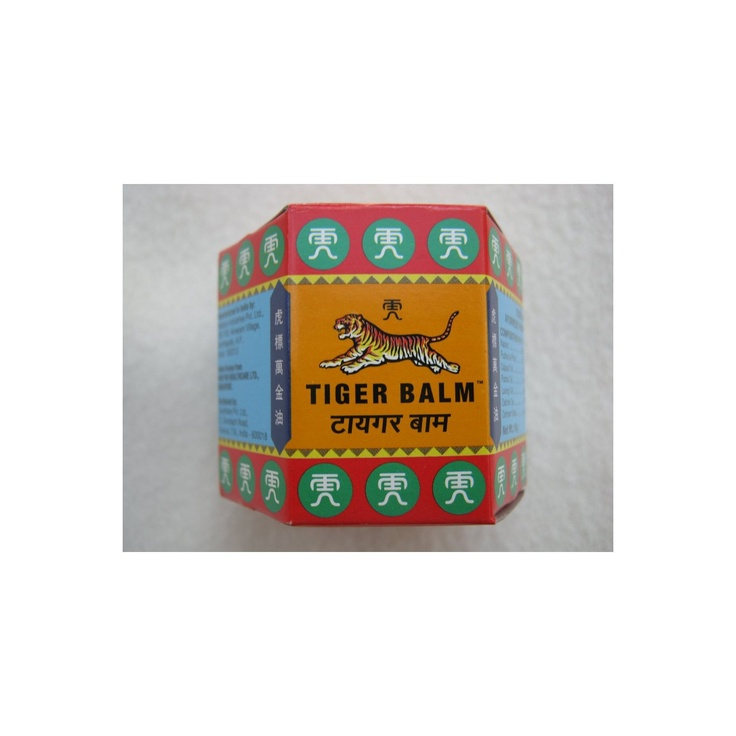 Extra strength Tiger Balm.  Good for aches & pains and it smells nice.
