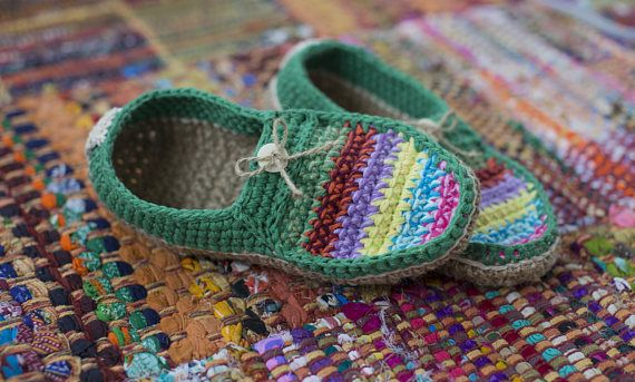Knitted Moccasins