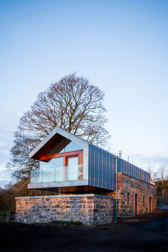 Loughloughan Barn in Broughshane, Northern Island, UK by McGarry-Moon Architects