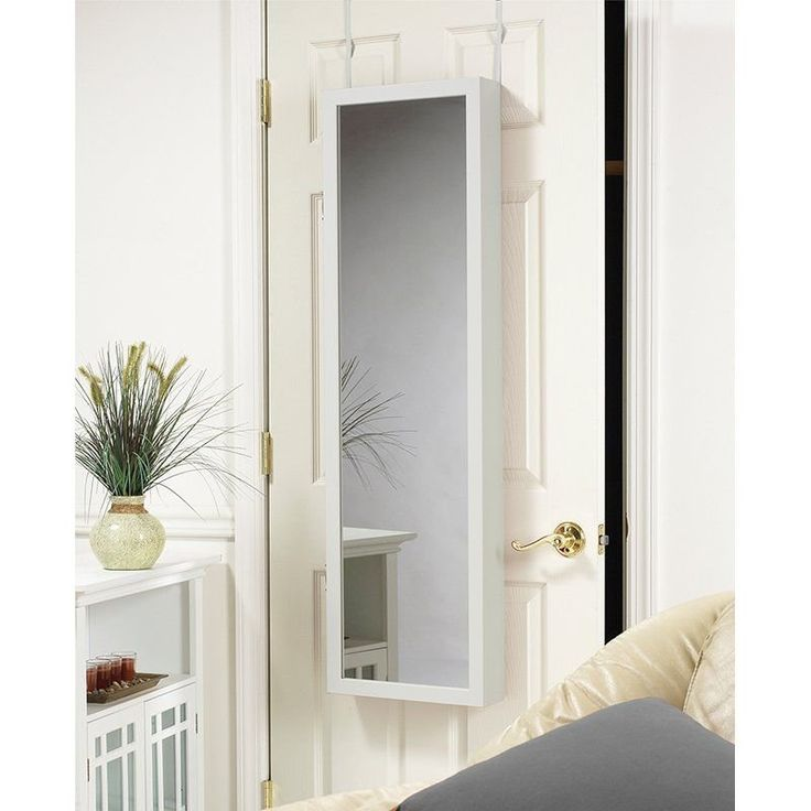 Mirrotek Plaza Astoria Over the Door / Wall Mount Jewelry ...