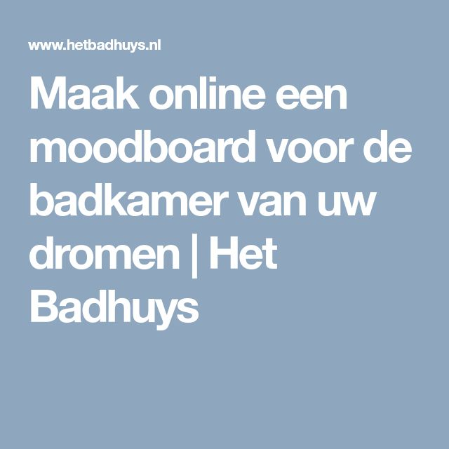 25+ beste ideeën over Badkamer online op Pinterest - Badkamer ...