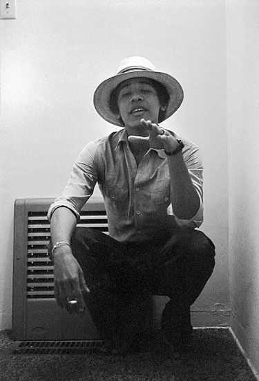 Barack Obama - 1980.  Photo by Lisa Jack / M+B Gallery