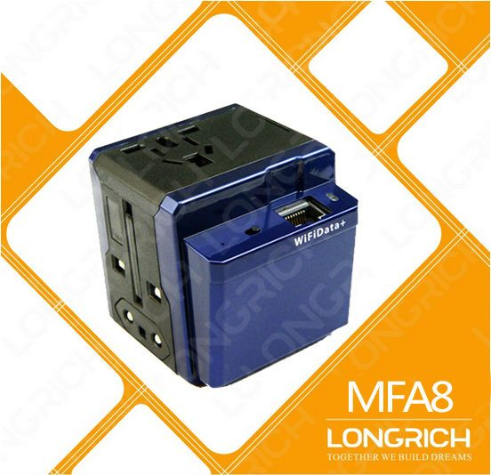 LONGRICH Newest product wireless sharing car WiFi router with USB port travel adapter MFA8#car wifi router#router