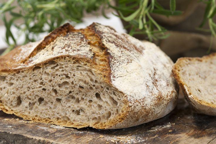 eltefritt brød med fint og grovt mel