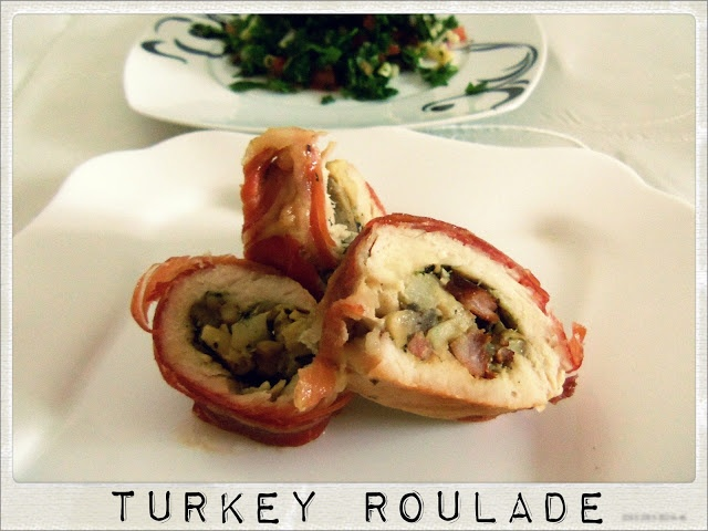 Jamon Serrano Covered Turkey Roulade